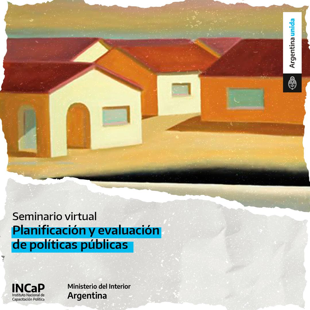 Planificación y evaluación de políticas públicas (AGOSTO 2021)