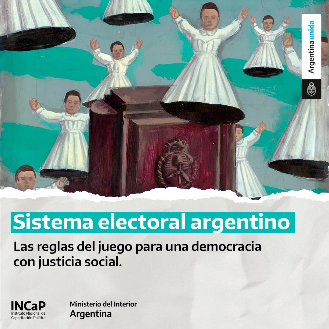Sistema electoral argentino:  las reglas de juego para una democracia con justicia social (SEPTIEMBRE 2021)